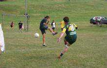 Le tournoi de foot