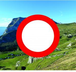 Route de Vormy interdite à tous véhicule